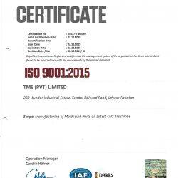 Royalcert ISO 90012005